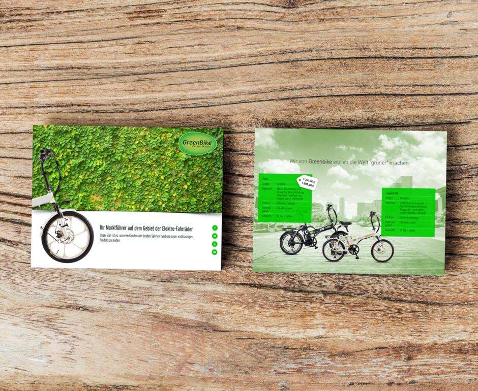 e-Bike Marktführer Printvorlage