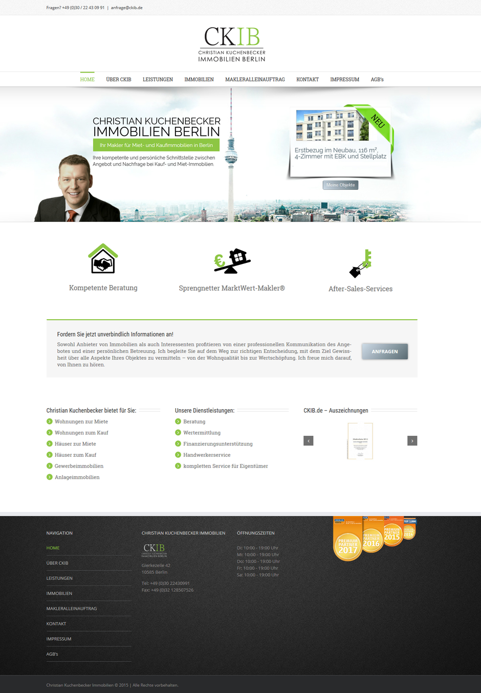 Homepage von Christian Kuchenbecker