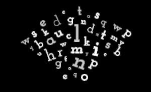gemischte Buchstaben